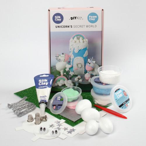 Silk Clay Enhörning I Drömland Modelleri