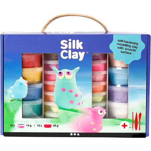 Silk Clay Presentask Mixade Färger