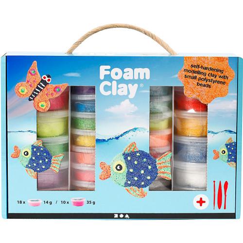 Foam Clay Presentask Mixade Färger
