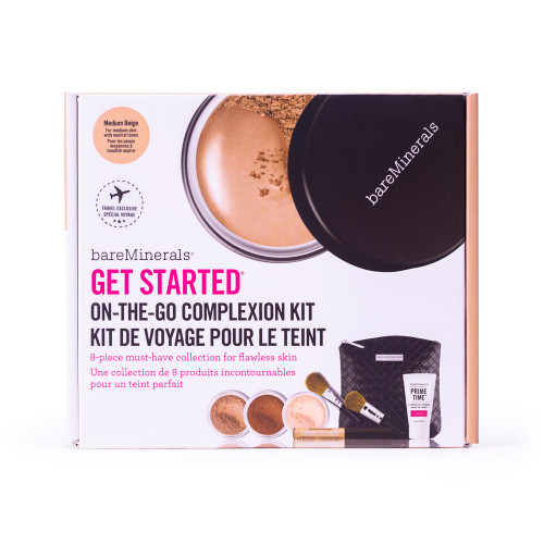 bareMinerals On-the-go complexion kit - 8 delar Medium Beige