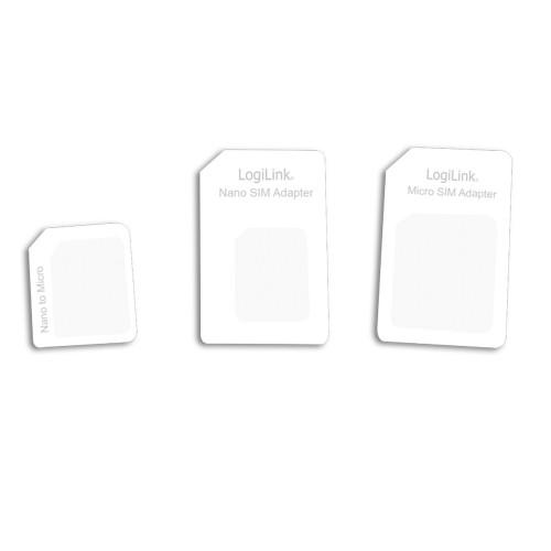 LogiLink SIM-kortsadaptrar 3-pack