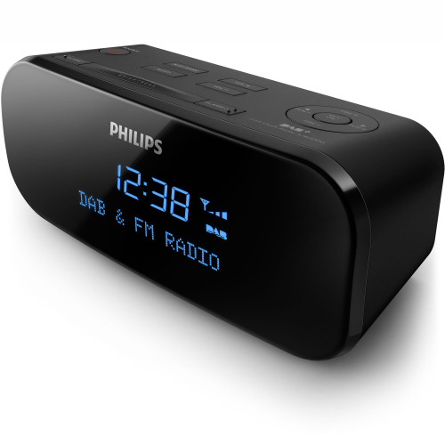Philips Klockradio Digital FM/DAB