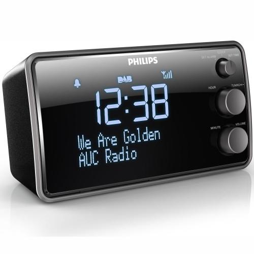 Philips Klockradio Stor LCD-skärm