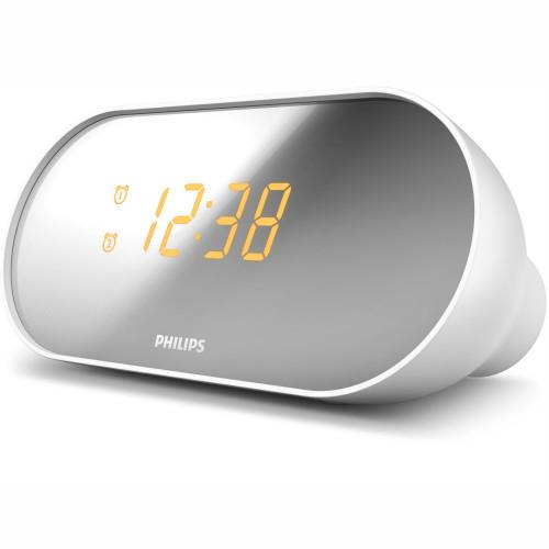 Philips Klockradio Spegelfinish-skärm