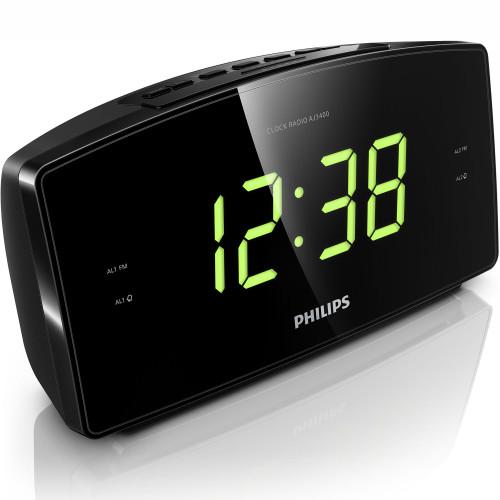 Philips Klockradio Stor skärm