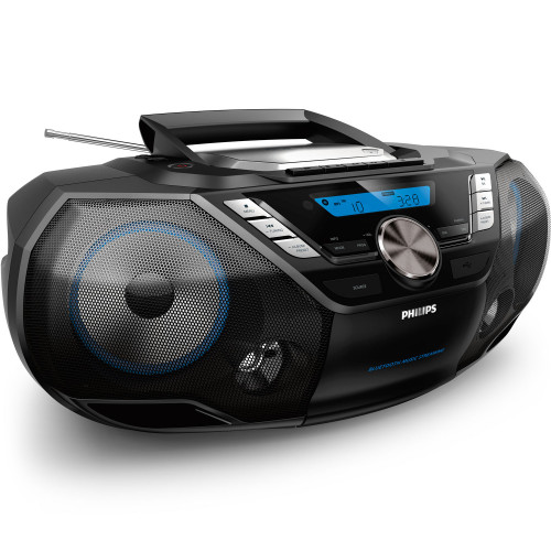 Philips Boombox CD/Radio/Kassett/BT/US