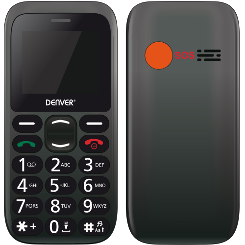 Denver GSM-telefon Stora siffror SOS