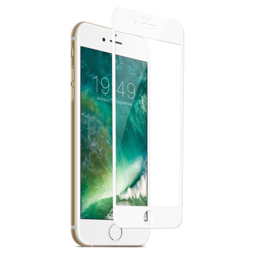 Champion Skärmskydd Glas iPhone 7/8 Vit