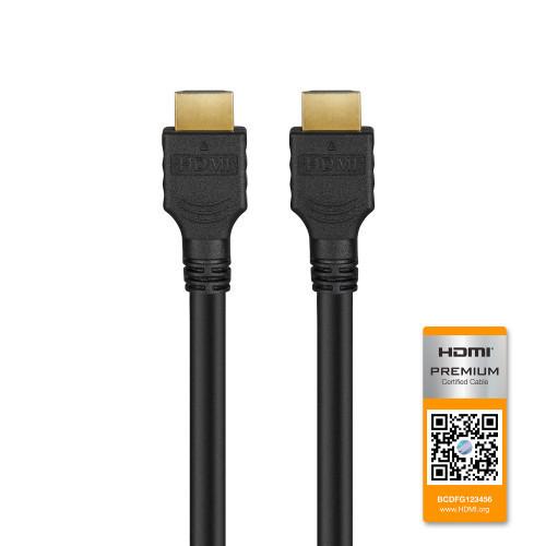 Champion HDMI-kabel Ha-Ha Premium 1.0m