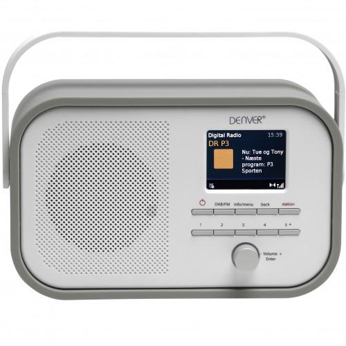 Denver DAB+ & FM-radio Grå