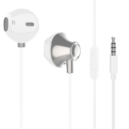 Champion Headset EarPod HSZ500 Vit Meta