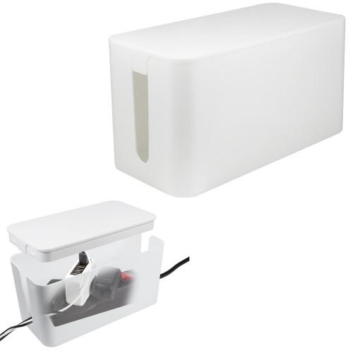 LogiLink Cable box - Kabelgömma S Vit