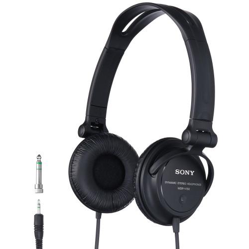SONY Hörlurar DJ MDR-V150 Svart