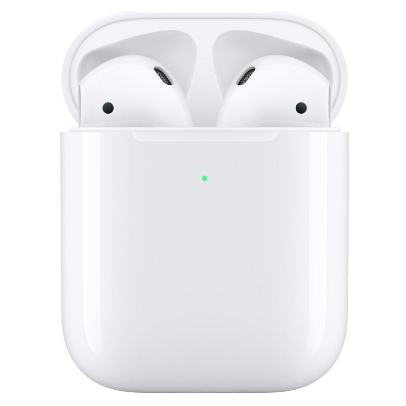 Apple AirPods med trådlöst ladd.etui