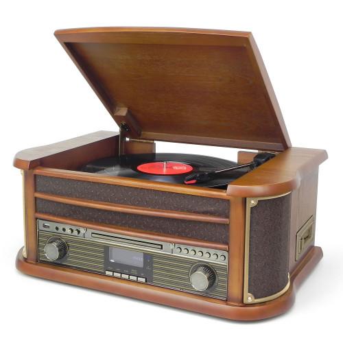 Soundmaster Retro skivspelare Bluetooth