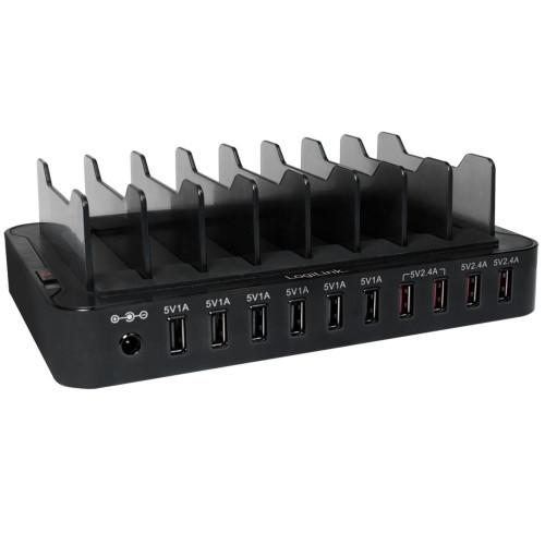 LogiLink Charging Station 10x USB 13,2A