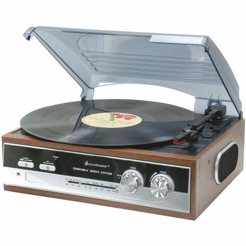 Soundmaster Skivspelare PL186H