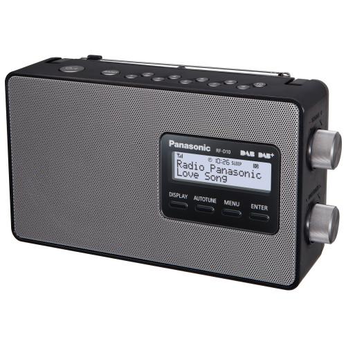 Panasonic FM/DAB Radio snabbval AC/Batte