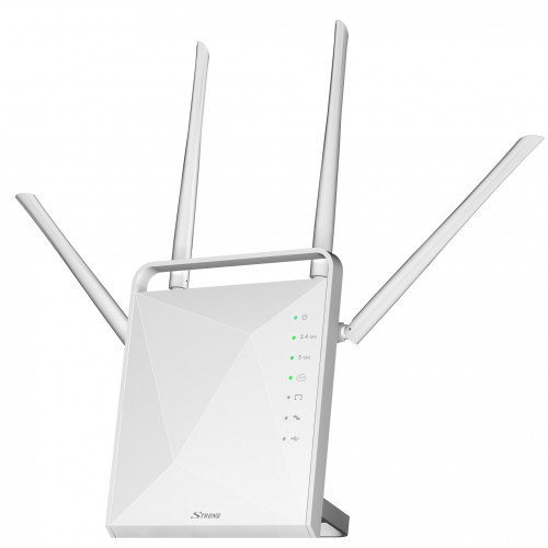 Strong WiFi Router Dual Band 1200Mbit