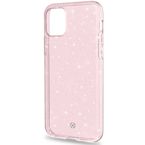 Celly Sparkling cover iPhone 11 Rosa