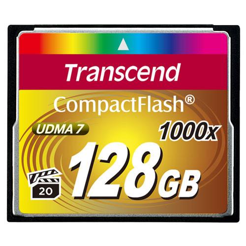 Transcend CompactFlash 128GB 1000x