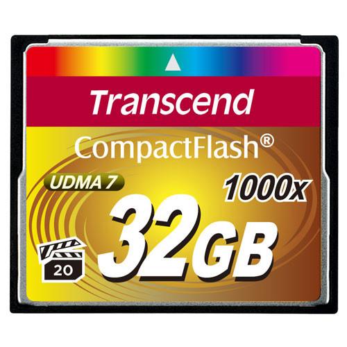 Transcend CompactFlash  32GB 1000x