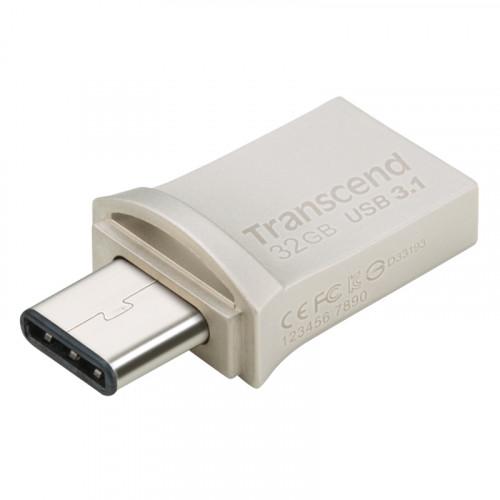 Transcend USB-minne (USB3+Type-C)  32GB