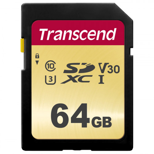 Transcend SDXC  64GB UHS-I U3 (R95/W60)