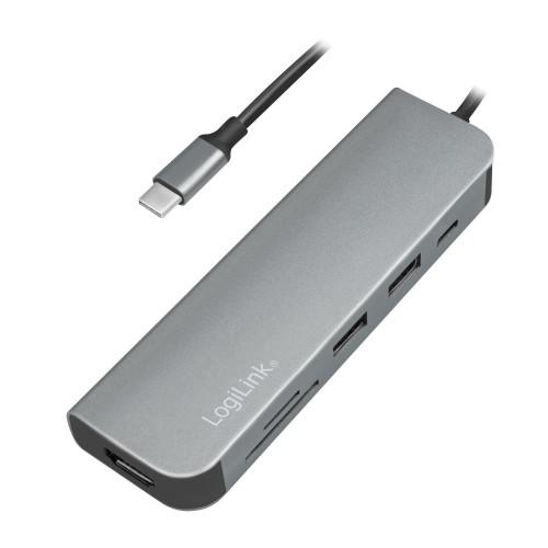 LogiLink USB-C Multi-Hub HDMI/PD/DeX