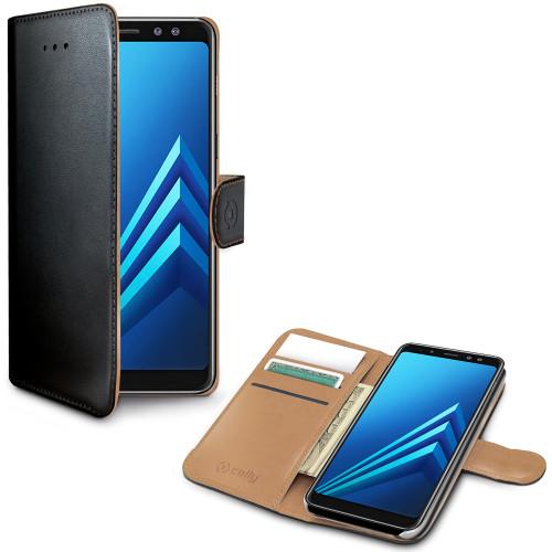 Celly Wallet Case Galaxy A8 2018 Sv
