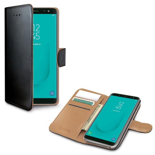 Celly Wallet Case Galaxy J6 2018 Sv