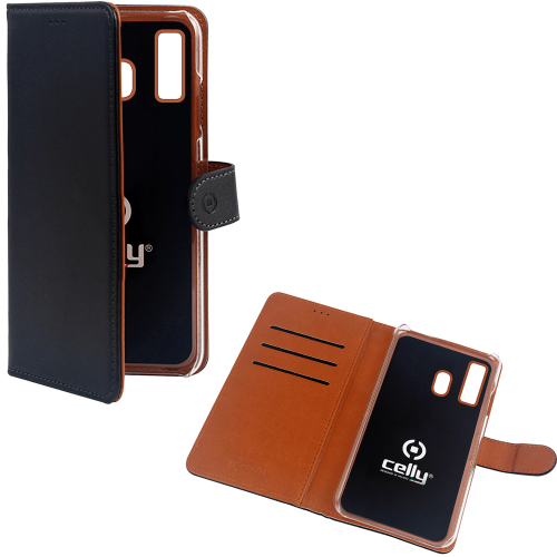 Celly Wallet Case Galaxy A40 Sv/be