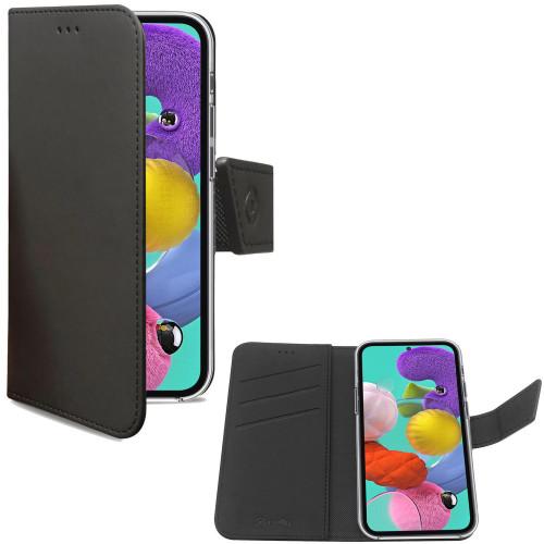 Celly Wallet Case Galaxy A51 Svart