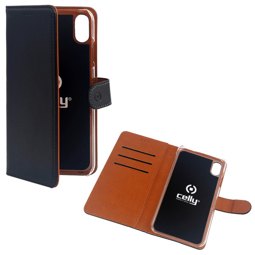 Celly Wallet Case iPhone Xr Sv/Be