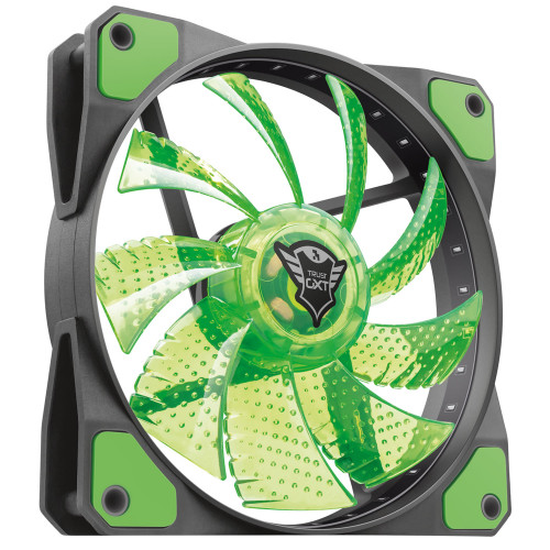 Trust GXT 762W LED silent PC fan Gre