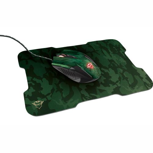 Trust GXT 781 Rixa Camo Mouse & pad