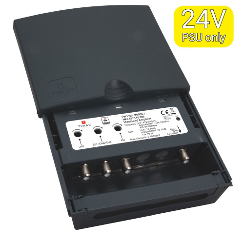 Triax MFA 657 mast amp,3 inp,700 MHz