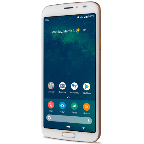 Doro 8080 4G Smartphone Vit