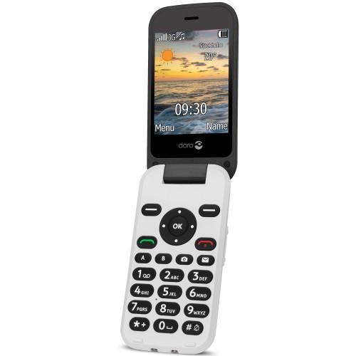 Doro 6621 3G Svart/Vit