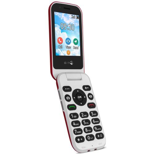 Doro 7031 4G Röd/Vit