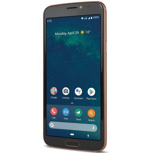 Doro 8080 4G Smartphone Svart