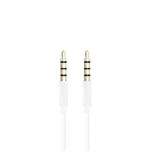 Champion 3,5mm Audiokabel 2m Vit