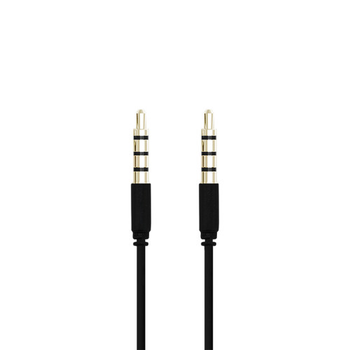 Champion 3,5mm Audiokabel 1m Svart