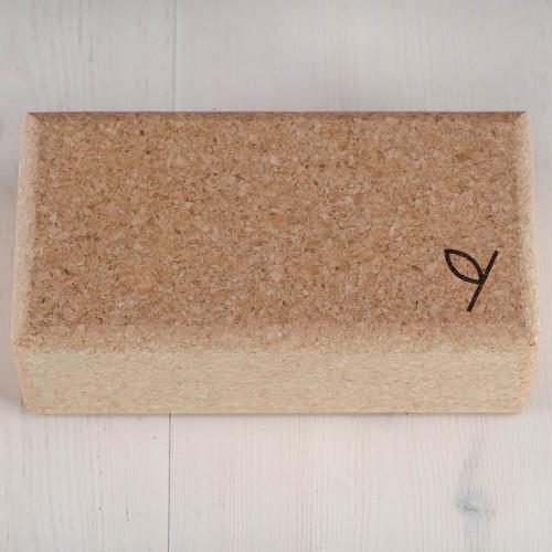 Yogiraj Cork block, standard Natural
