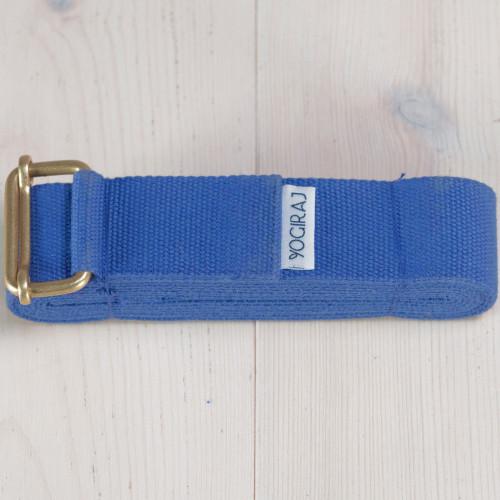 Yogiraj Yoga belt standard length Blue