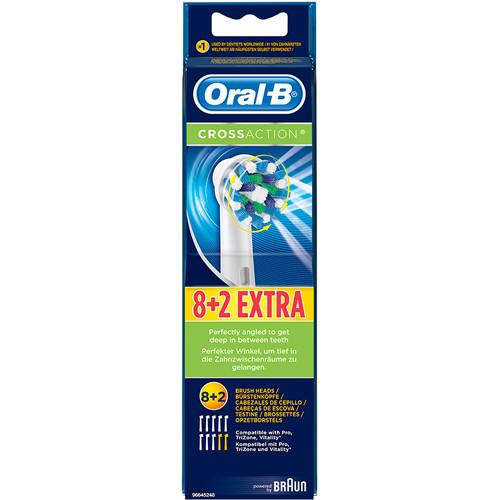 Oral B Refiller CrossAction 8+2