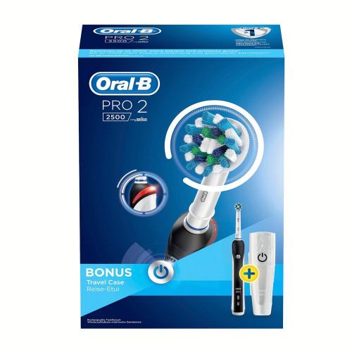 Oral B Eltandborste Pro2500 CrossAc.