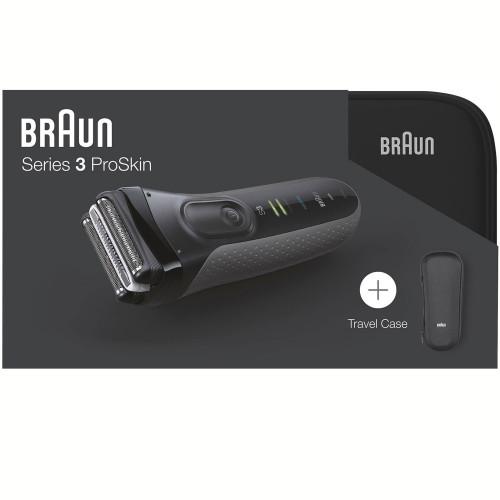 Braun Rakapparat S3 3000S + Necessär