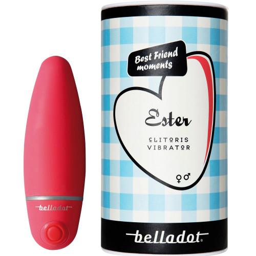 Belladot Ester K-vibrator röd