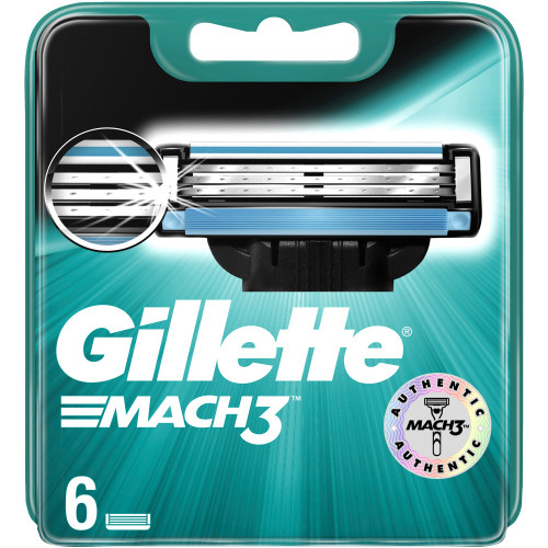 Gillette Mach3 Base 6p